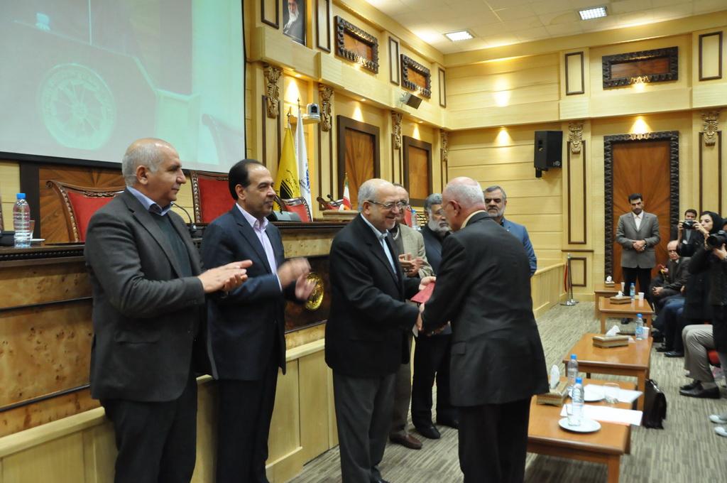 مراسم تودیع و معارفه رئیس سازمان نظام مهندسی معدن