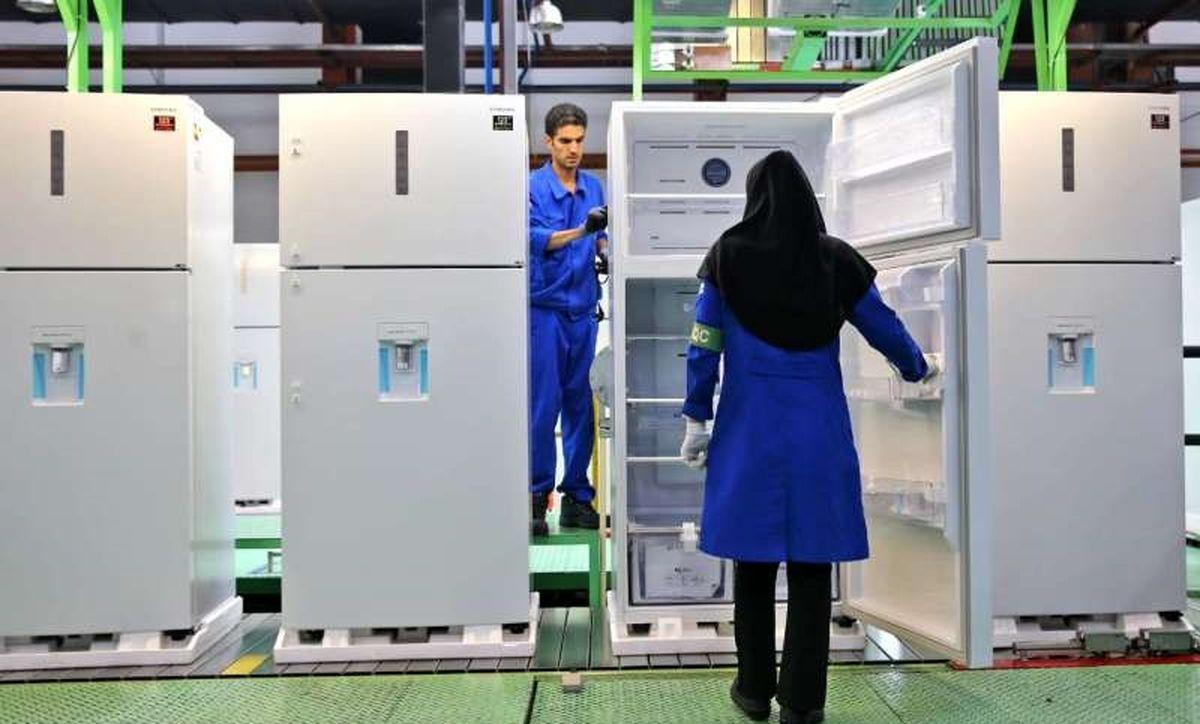 رشد ۱۱۵ درصدی تولید یخچال و فریزر در فروردین ۱۴۰۰