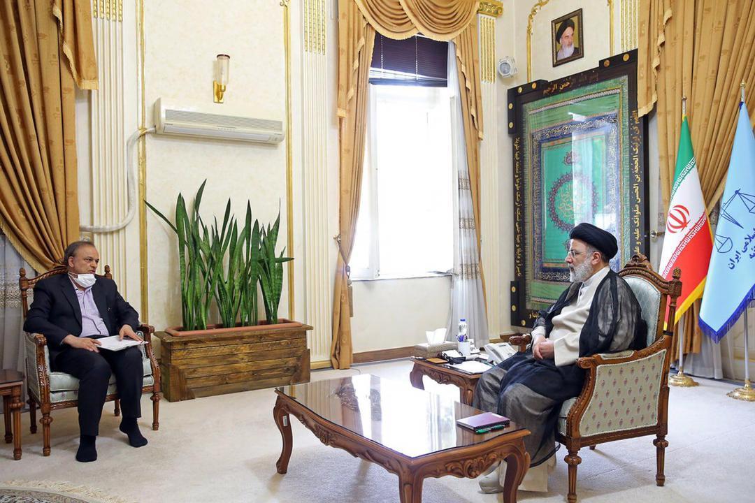 دیدار وزیر صمت با رئیس جمهور منتخب