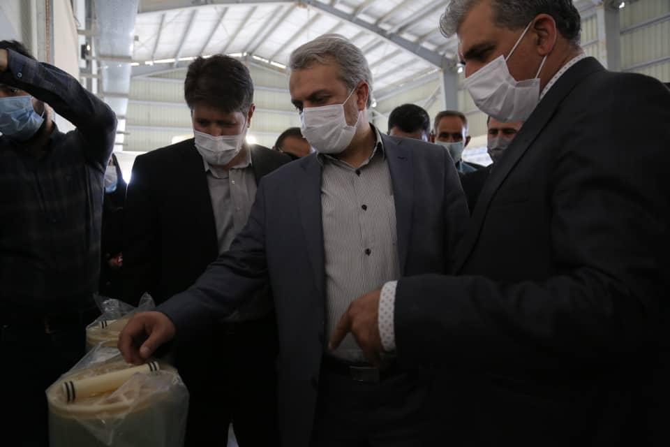 بازدید وزیر صمت از ۴ واحد صنعتی شهرستان ایوان