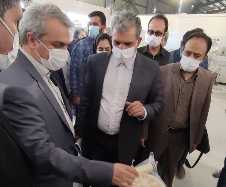 بازدید وزیر صمت از طرح آب شیرین کن ایدرو در ایلام